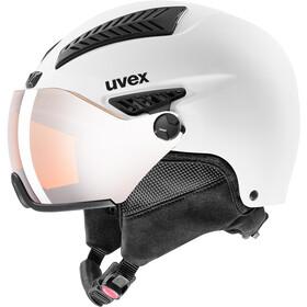 UVEX hlmt 600 Visor Helm, white mat